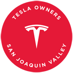 Tesla Owners San Joaquin Valley Logo